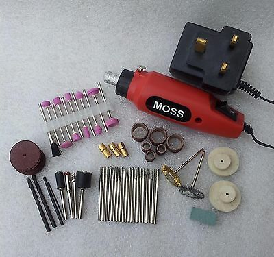 80Pc Mini Engraver Engraving Kit For Craft Glass Ceramic Metal Machine Drill