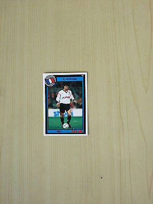 Carte official football cards panini 1993  OLEKSIAK   LILLE  LOSC