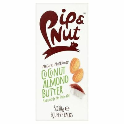 Pip & Nut Coconut Almond Butter Squeeze Pack Multipack 5 x 30g