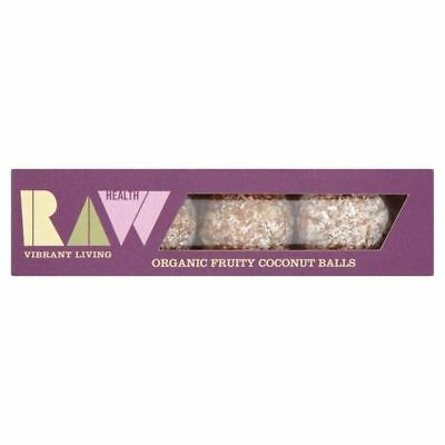 Raw Health Organic Fruity Coconut Energy Balls 60g