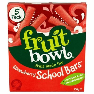 Fruit Bowl School Bars Strawberry 100g
