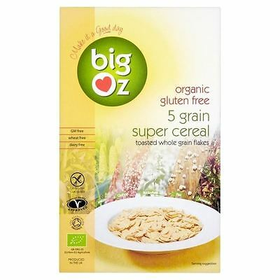 Big Oz Organic Gluten Free 5 Grain Super Cereal 350g