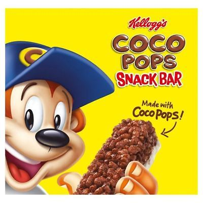 Kellogg's Coco Pops Cereal Milk Bars 6 x 20g