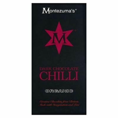 Montezuma's Dark Chocolate with Chilli Bar 100g