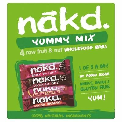 Nakd Free From Yummy Mix Multipack 4 x 35g