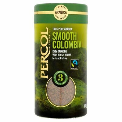 Percol Fairtrade Colombia Instant Coffee 100g