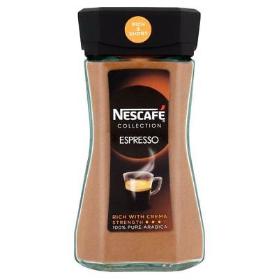 Nescafe Espresso Freeze Dried Instant Coffee 100g