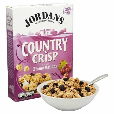 Jordans Country Crisp with Raisins 500g