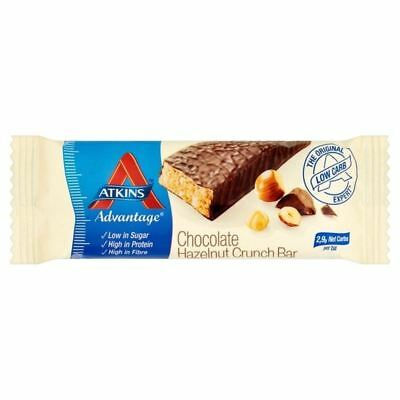 Atkins Advantage Chocolate Hazelnut Crunch Bar 60g