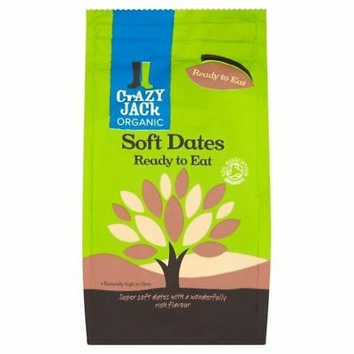Crazy Jack Soft Ready to Eat Organic Dates 250g