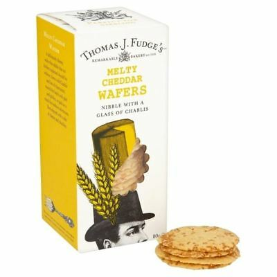 Fudge's Melty Cheddar Wafers 80g