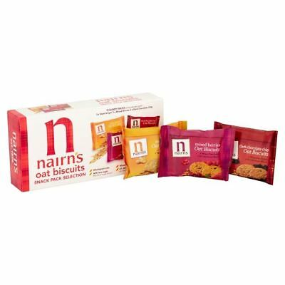 Nairn's 9 Oat Biscuits Snack Pack Selection 180g