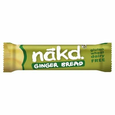 Nakd Free From Gingerbread Bar 35g
