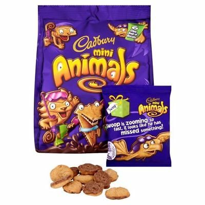 Cadbury Animal Minipacks 6 x 22g