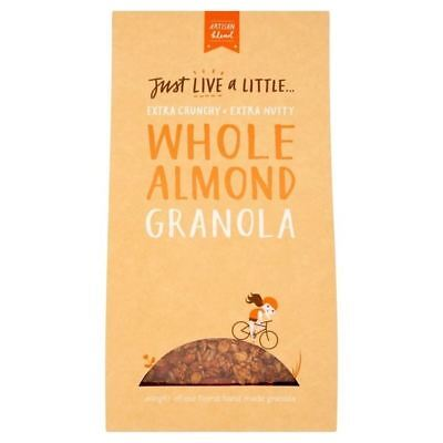 Just Live a Little Whole Almond Granola 400g