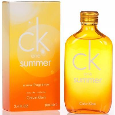 CK One Summer 2010 edt 100ml Spray Limited Edition 2010 (free delivery)