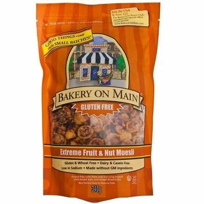 Bakery on Main Extreme Fruit & Nut Muesli 340g