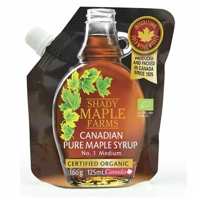 Shady Maple No 1 Medium Organic Canadian Maple Syrup 125ml