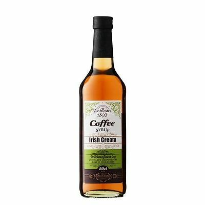 Saturnus 1893 Irish Cream Coffee Syrup 500ml