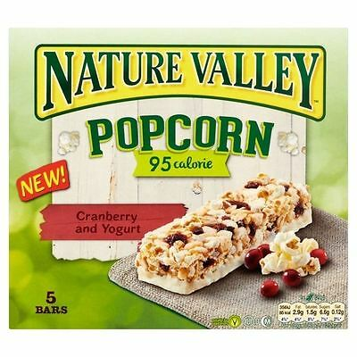 Nature Valley Popcorn Bars Cranberry & Yoghurt 5 x 20g