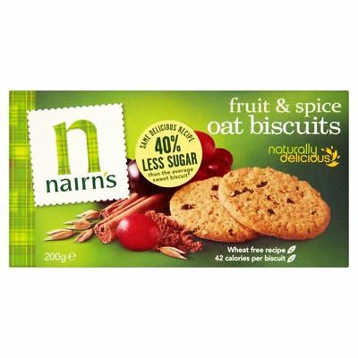 Nairn's Wheat Free Fruit & Spice Biscuits 200g
