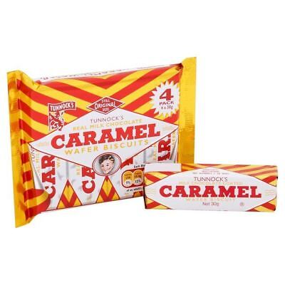 Tunnock's Milk Chocolate Caramel Wafers 4 x 26.5g