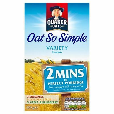 Quaker Oat So Simple Variety 9 x 33g