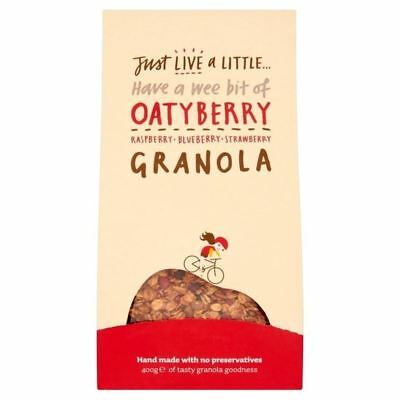Just Live a Little OatyBerry Granola 400g
