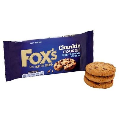 Fox's Delicious Cookies Milk Chocolate Chunks 175g
