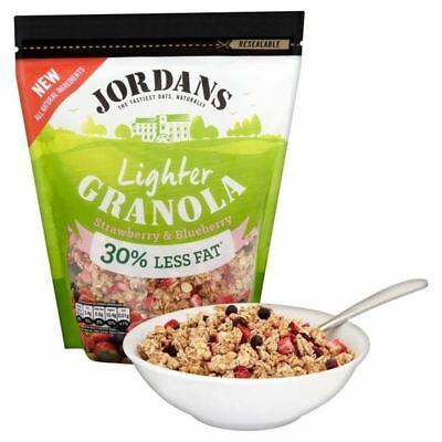 Jordans Cereal Lighter Granola Strawberry & Blueberry 550g