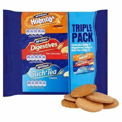 McVities Biscuits Triple Pack 750g