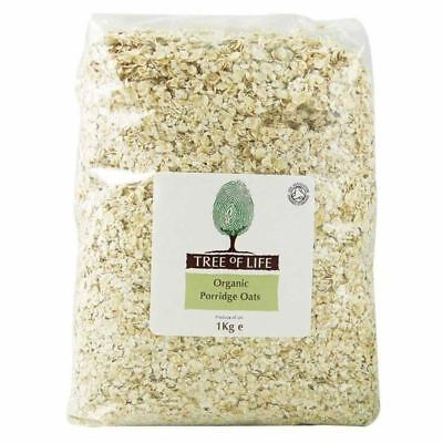 Tree of Life Organic Jumbo Oats 1kg