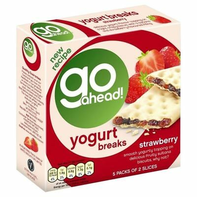 Go Ahead Yoghurt Breaks Strawberry 5 per pack