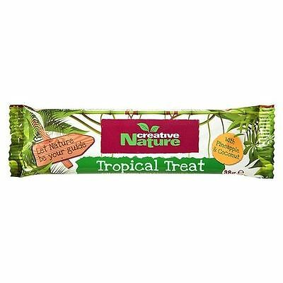 Creative Nature Superfood Bar Tropical Treat 38g
