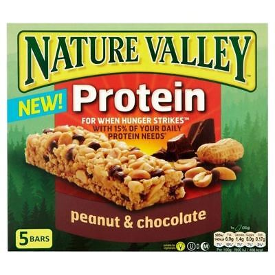 Nature Valley Protein Bars Peanut & Chocolate 5 x 30g