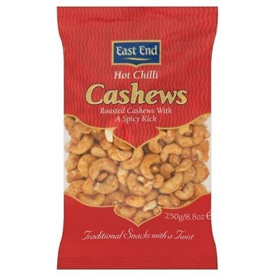 East End Hot Chilli Cashew Nuts 250g