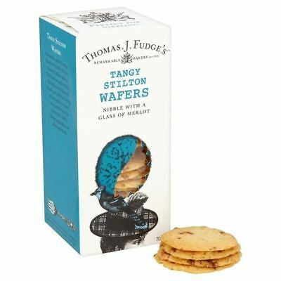 Fudge's Tangy Stilton Wafers 75g