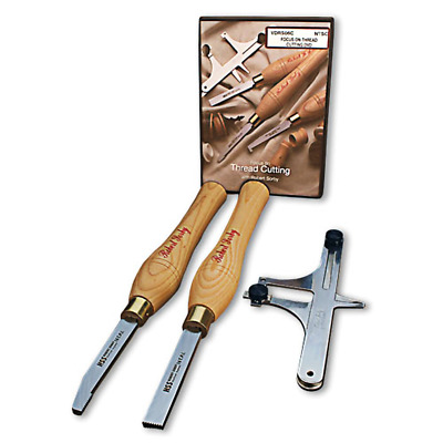 Robert Sorby #89HS10 Thread Cutting Set - 10TPI