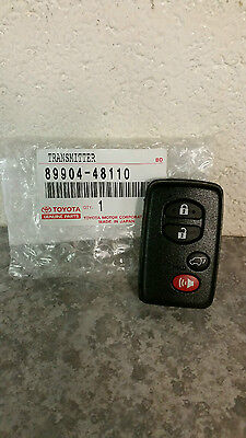 Genuine Toyota Highlander & Hybrid Limited OEM Remote Fob 2008-13 New SMART KEY