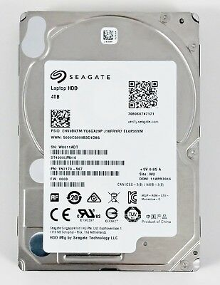 "Seagate Momentus ST4000LM016 4 TB 5400RPM 2.5"" SATA HDD 15mm $ Clearance Sales $"