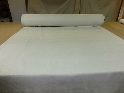 Job Lot - 10m rolls LIGHT NATURAL~ CHENILLE UPHOLSTERY FABRIC (Amalfi from NEXT)