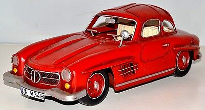 MB 300 SL 1954 Oldtimer Blechauto Blechmodell Tin Model Vintage Car 32 cm 37295