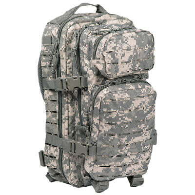 US Assault Day Pack MOLLE Backpack Tactical Combat Rucksack 20L ACU Digital Camo