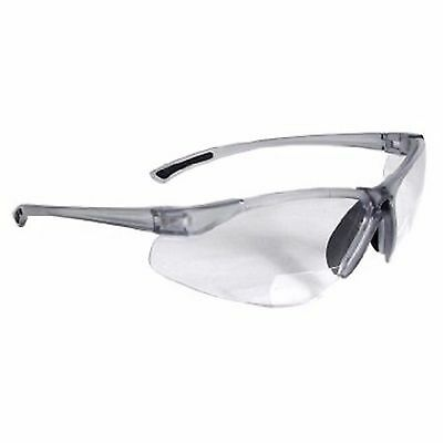 Radians C2-125 Bi-Focal Reading Safety Glasses with Clear 2.5 Lens