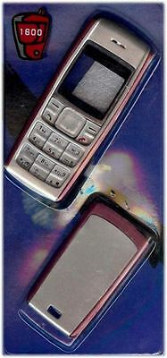 New!! Red and Silver Housing / Fascia / Cover / Case for Nokia 1600