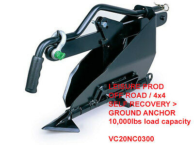PRO Ground Anchor / Off Road 4x4 / Land Rover / Tow rope winch / VC20NC0300