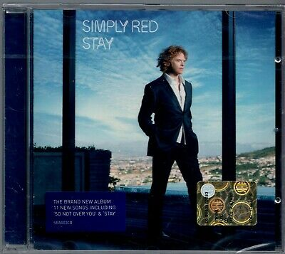 "Cd  Neu "" Simply Red - Stay "" 11 Songs (So Not Over You) - Ovp -"