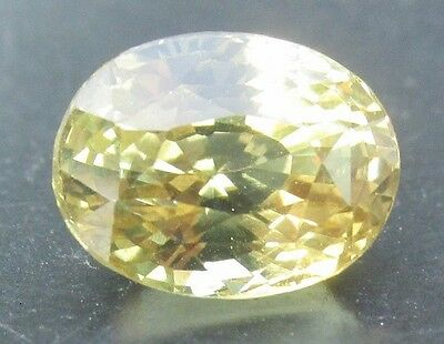 2.87 cts - Brilliant Greenish Yellow Chrysoberyl With Video!