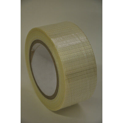 50 Metre Strong Reinforced Glass Filament Crossweave Strapping (Packaging) Tape