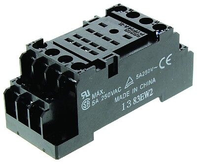 Omron Pyf14A-E Din Rail Relay Socket Mini 5Amp 250Vac 14Pin